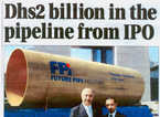 Coverage on FPI IPO Announcement in 7 Days Newspaper in the UAE, April 14, 2008