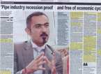 Rami interviewed for Emirates Business 24/7 Newspaper in the UAE, April 10, 2008
