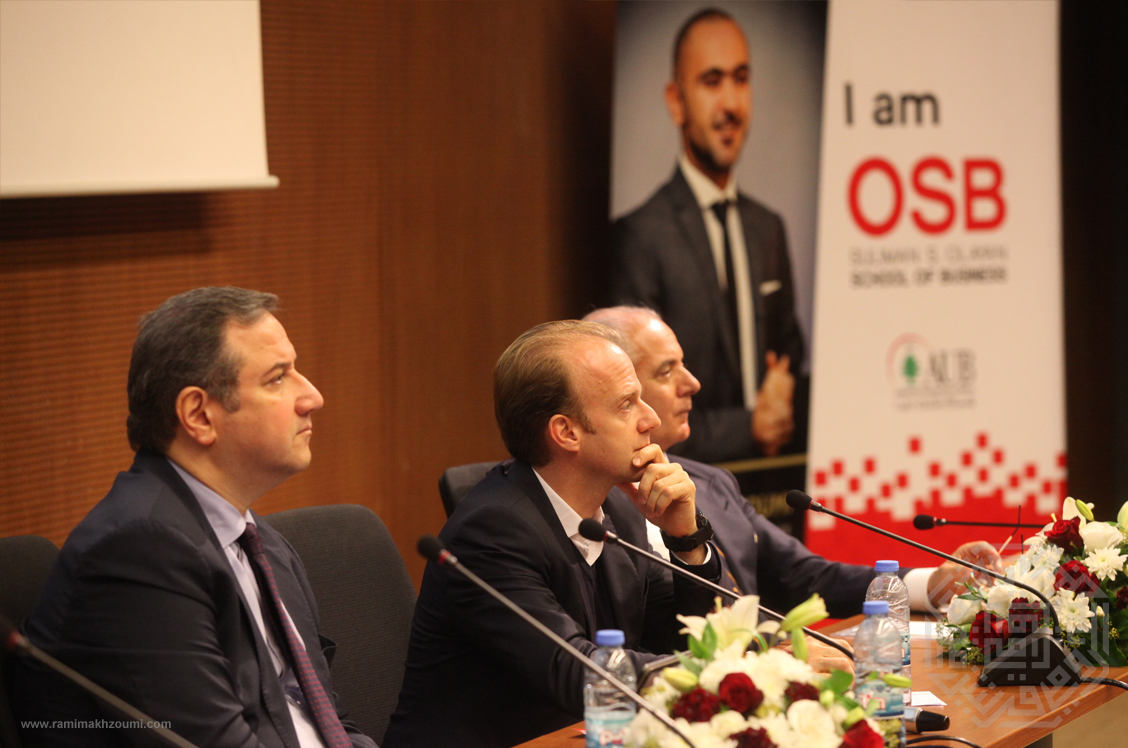 American University of Beirut hosts an event as part of the 2018 Rami Makhzoumi Corporate Governance Initiative