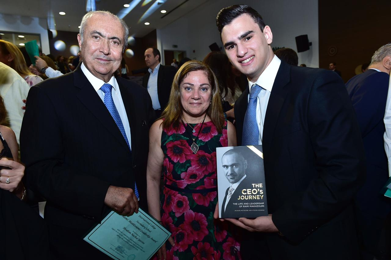 Ibrahim Yassine wins the 2019 Rami Makhzoumi Leadership Award